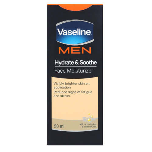 Men Face Moisturiser Hydrate & Soothe 50ml