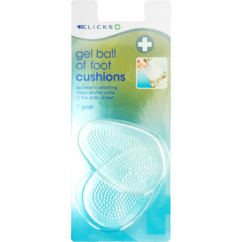 Gel Ball Of Foot Cushions 1 Pair