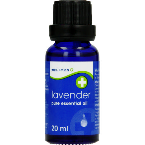 Pure Essential Oil Lavender 20ml