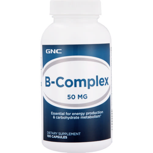 B-Complex 50 Dietary Supplement 100 Capsules