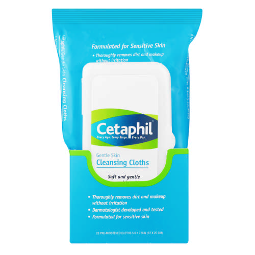 Gentle Cleansing Cloths 25