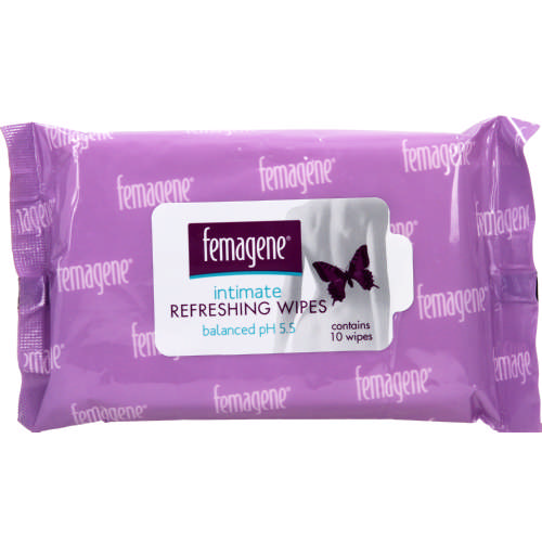 Intimate Refreshing Wipes 10 Wipes