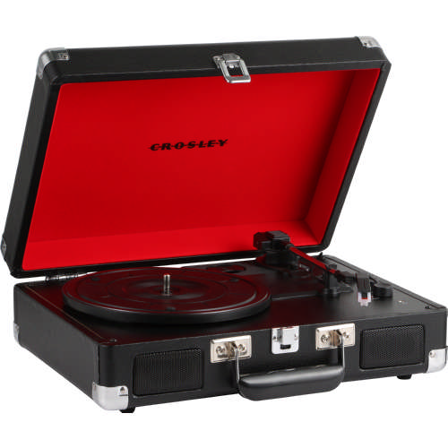 Cruiser Deluxe Turntable Black