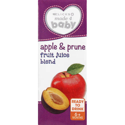 Made 4 Baby Apple & Prune Pure Juice Blend 200ml