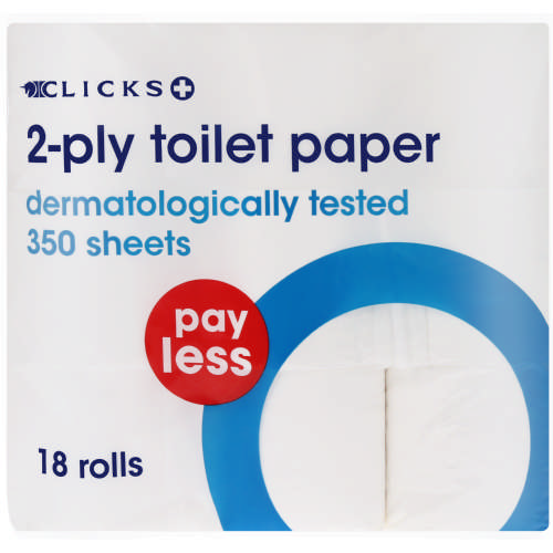 Pay Less 2-Ply Toilet Paper 18 Rolls