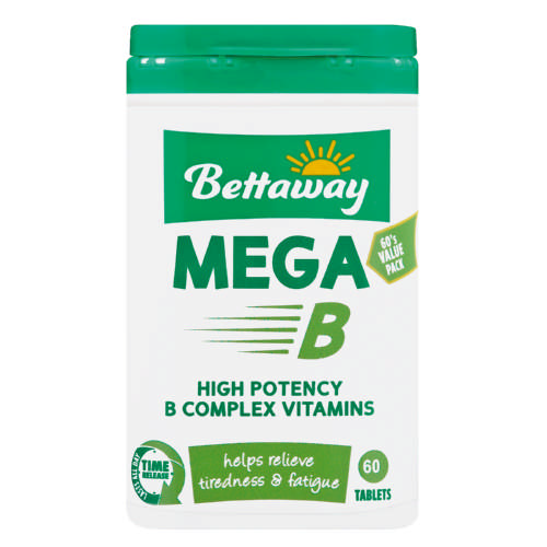 Mega B Vitamin Supplement 60 Tablets