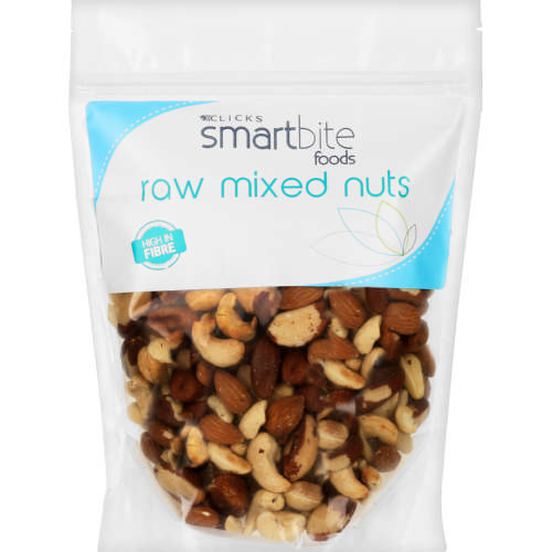Foods Raw Mixed Nuts 450g