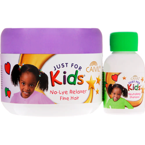 Just For Kids Relaxer and Neutralising Shampoo Fine Hair 225ml + 30ml