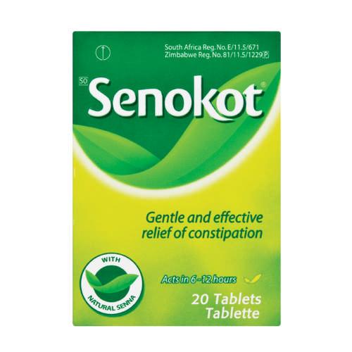 Senokot Natural Laxative 20 Tablets Clicks
