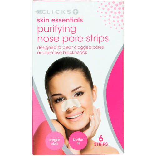 Skin Essentials Purifying Nose Pore Strips 6 Strips