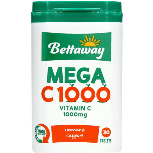 Mega C 1000 Vitamin Supplement 30 Tablets