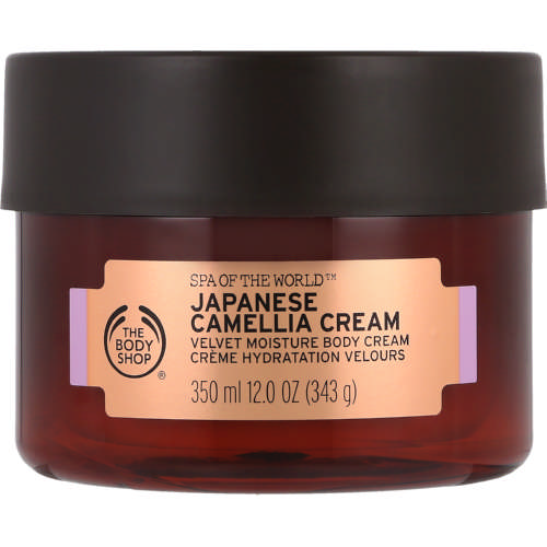 Spa of The World Body Cream Japanese Camelia 350ml
