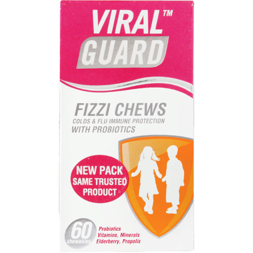 Fizzi Chews Colds & Flu Immune Protection 60 Chewables