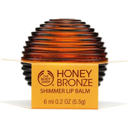 Honey Bronze Shimmer Lip Balm Spf15 6ml