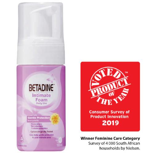 Betadine Intimate Foam 100ml - Clicks