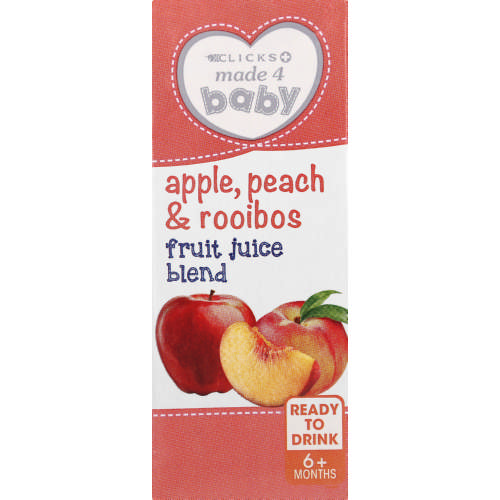 Fruit Juice Blend Peach & Rooibos 200ml