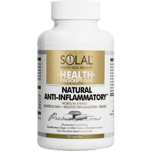 Health Prescriptions Anti-Inflammatory 120 Capsules