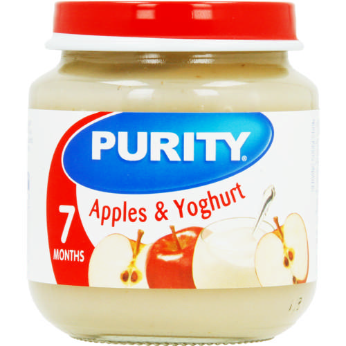 Second Foods Apples & Yoghurt 125ml