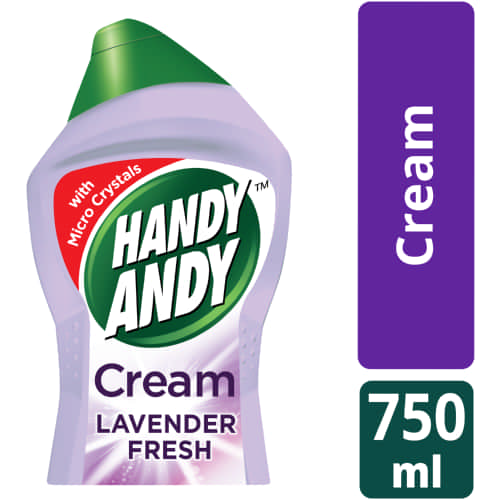 Household Cleaning Cream Lavender 750ml