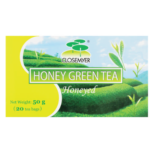 Green Tea Honey 20 Teabags