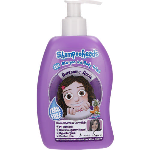 Shampooheads Awesome Annie 2 In 1 Shampoo And Body Wash