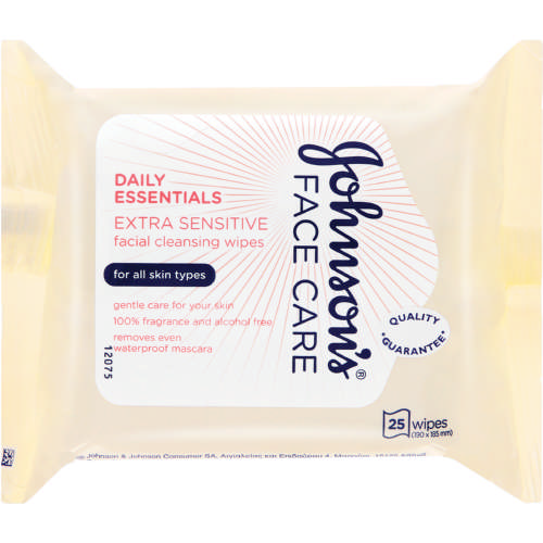 Face Care Daily Essentials Facial Cleansing 25 Wipes