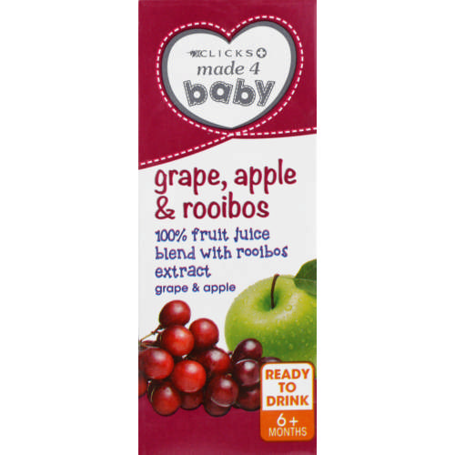 Juice Blend Apple Grape & Rooibos 200ml