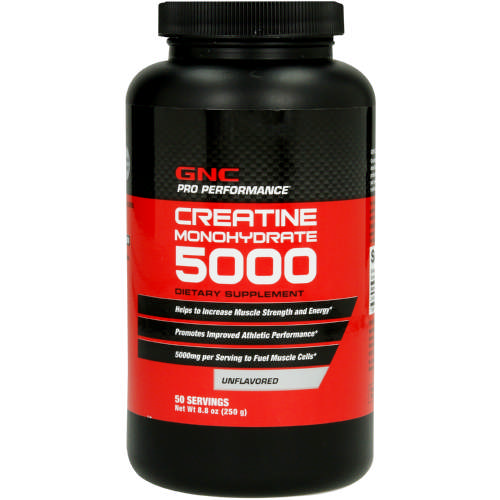 Pro Performance Creatine Monohydrate 5000 Dietary Supplement Unflavoured 250g