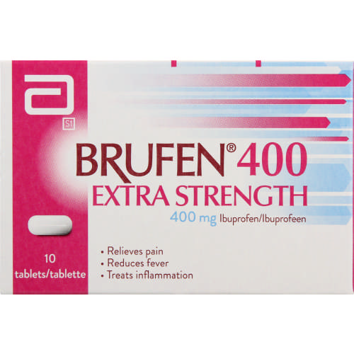 brufen 400mg extra strength tablets 10 tablets clicks