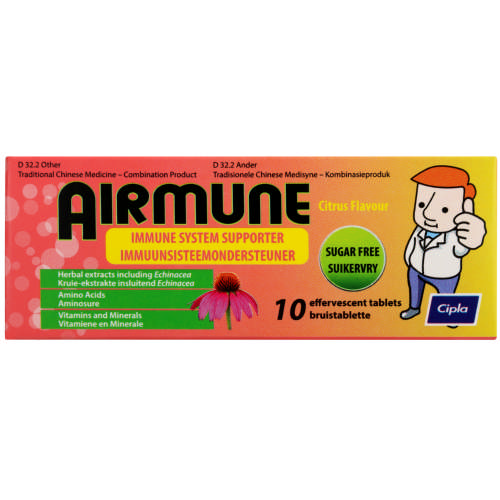 Immune System Supporter 10 Effervescent Tablets
