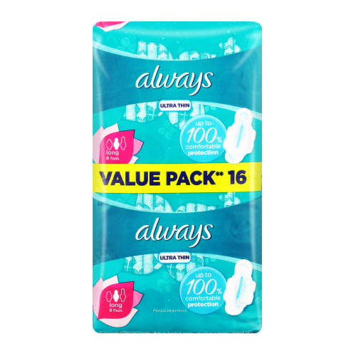 Ultra Super Plus 14 Sanitary Pads