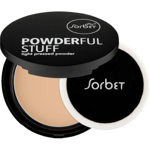 Powderful Stuff Pressed Powder Light 18g