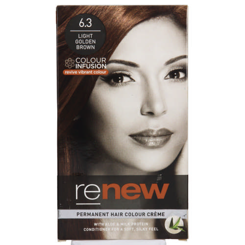 Colour Infusion Permanent Hair Colour Creme Light Golden Brown 6.3