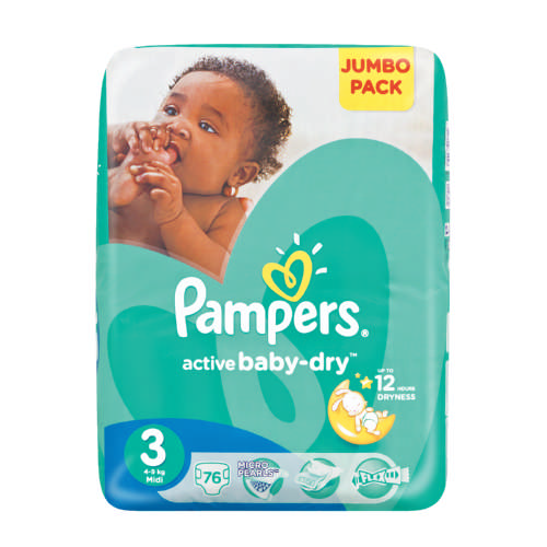 Pampers Swaddlers, Baby Dry and Cruisers Size 3 use average diapers per month are for babies weighing lb. ( kg) from about 5 months to 2 years.
