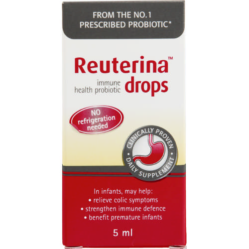 Reuterina Immune Health Probiotic Drops 5ml Clicks