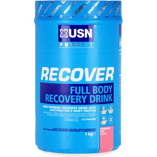 Purefit Recover Full Body Recovery Drink Strawberry 1kg