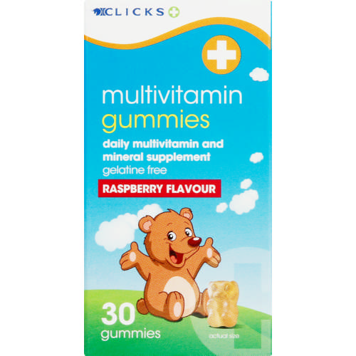 Multivitamin Gummies Raspberry 30 Gummies