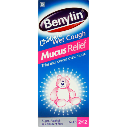 Children's Wet Cough Mucus Relief Age 2 to 12 100ml