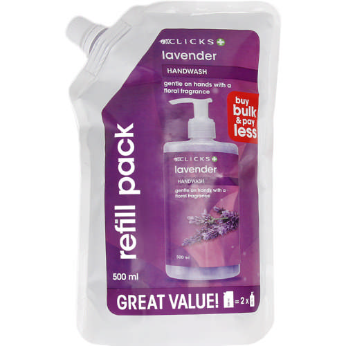 Beauty Lavender Hand Wash Refill 500ml