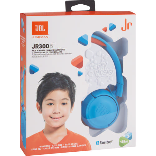 07c0888604f JBL Junior Bluetooth On Ear Headphones Blue - Clicks