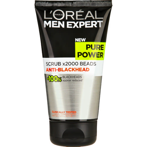 Men Expert Pure Power Scrub 150ml