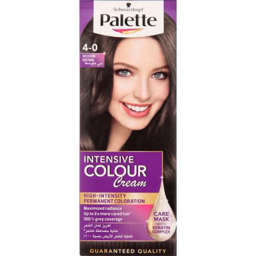 Shwarzkopf Palette Intensive Color Creme Medium Brown 4 0 Clicks