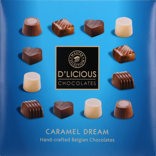 Hand-Crafted Belgian Caramel Dream 145g