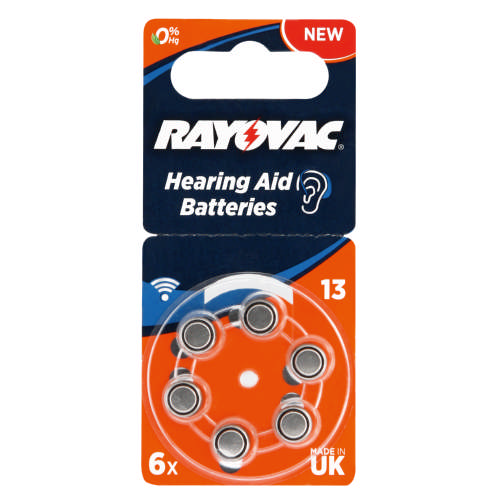 Hearing Aid 6 Pack