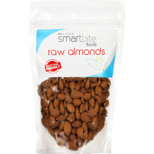 Smartbite Foods Raw Almonds 200g