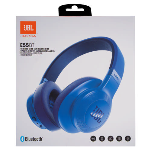 b3e289966da E45 Wireless On Ear Headphones Blue · test; test; test