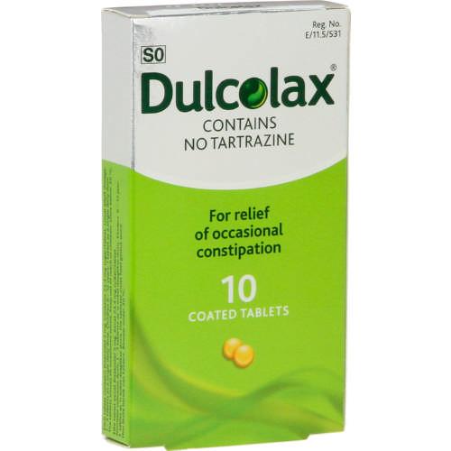 Dulcolax 10 Tablets Clicks