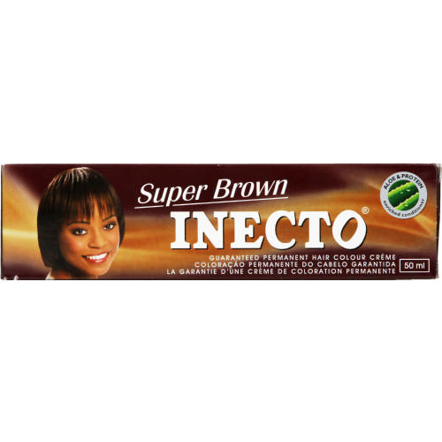 Inecto Permanent Hair Colour Creme Super Brown 50ml Clicks