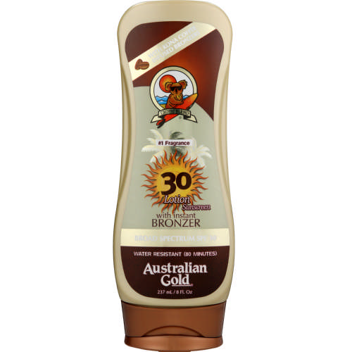 SPF30 Sunscreen Lotion With Instant Bronzer 237ml