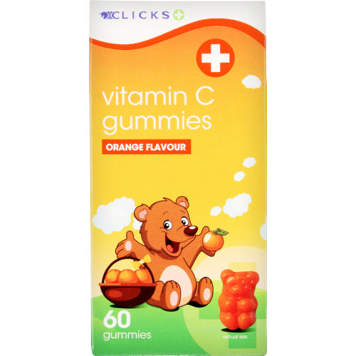 Vitamin C Gummies Orange 60 Gummies